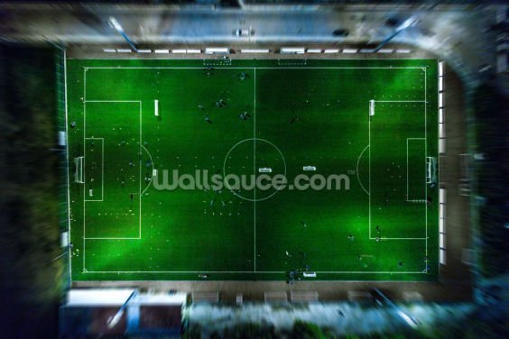 Football Aerial View Wallpaper Wall Murals