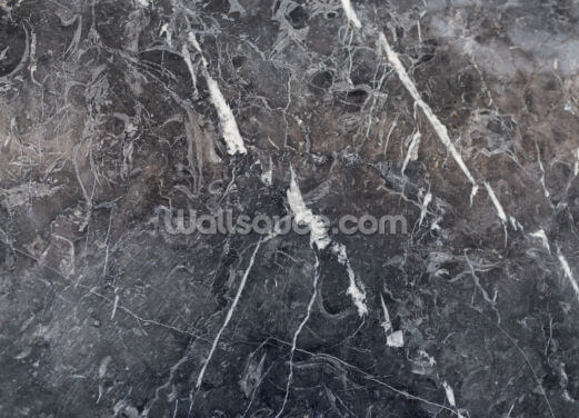 Dark Grey Marble Wallpaper Wall Murals