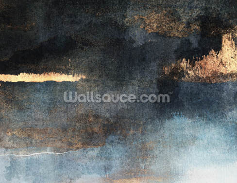 Rain with Sun Wallpaper Wall Murals