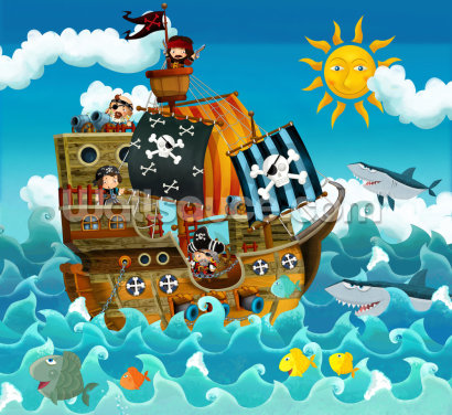 Pirates Wallpaper Wall Murals