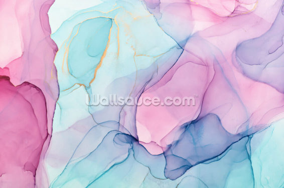 Pastel Watercolour Wallpaper Wall Murals