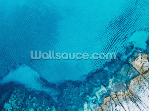Blue Lagoon Wallpaper Wall Murals
