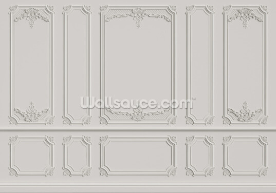 Vintage Panels Wallpaper Wall Murals