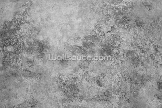 Grey Textured Concrete Wallpaper Wall Murals