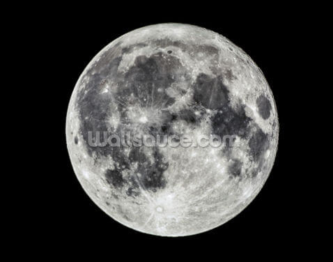 Full Moon Wallpaper Wall Murals