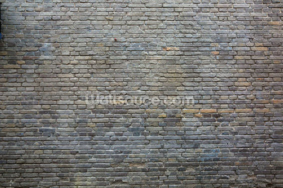 Dark Grey Bricks Wallpaper Wall Murals