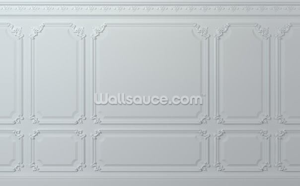 Off White Wood Panel Wallpaper Wall Murals