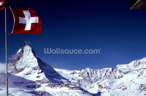 Matterhorn Wallpaper Wall Murals