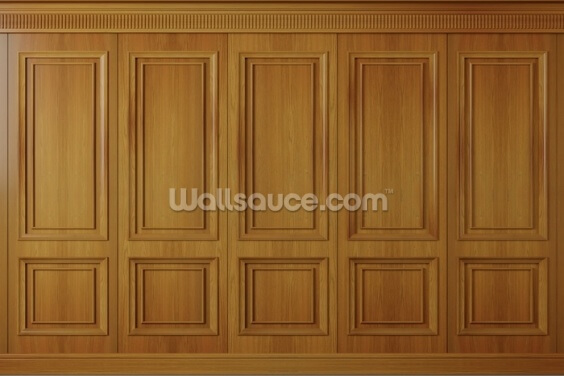 Wood Panels Wallpaper Wall Murals