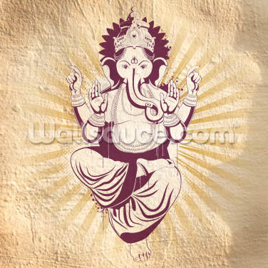 Ganesha Wallpaper Wall Murals