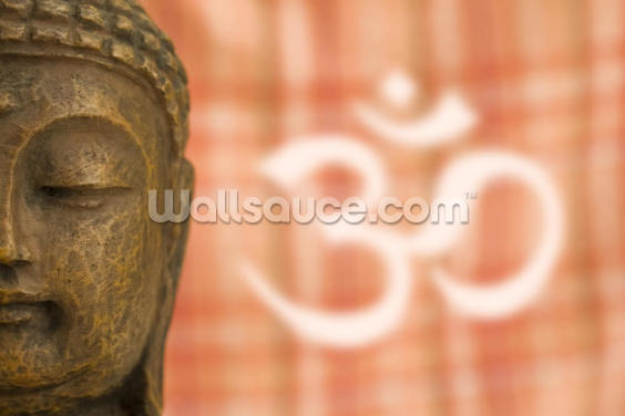 Buddha OM Sign Wallpaper Wall Murals