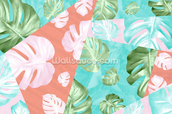 Totally Tropical Wallpaper Wall Murals