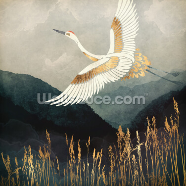 Elegant Flight Wallpaper Wall Murals