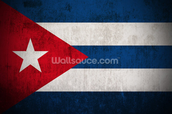 Cuba Flag Wallpaper Wall Murals