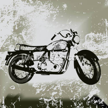 Motorcycle Grunge Wallpaper Wall Murals