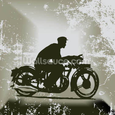 Vintage Motorcycle Wallpaper Wall Murals