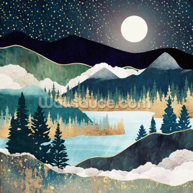 Star Lake Wallpaper Wall Murals