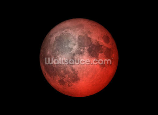 Pink Moon Wallpaper Wall Murals