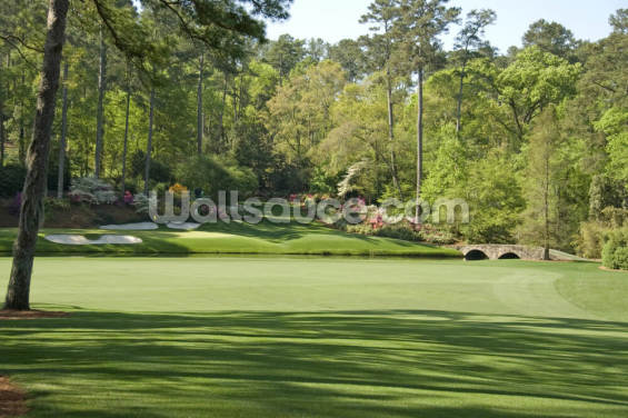 12th Hole at Augusta Wallpaper Wall Murals