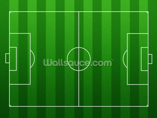 Football Pitch Wallpaper Wall Murals