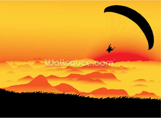 Paraglider Wallpaper Wall Murals