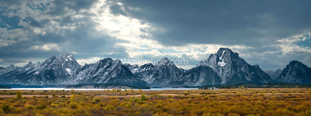 Grand Tetons Wallpaper Wall Murals