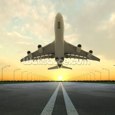 Aircraft Take Off Wallpaper Wall Murals