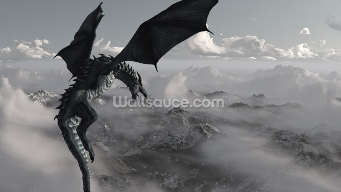 Dragon King Wallpaper Wall Murals