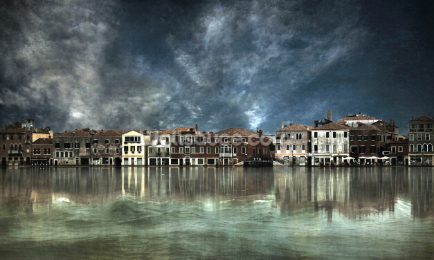 Reflections in Venice Wallpaper Wall Murals