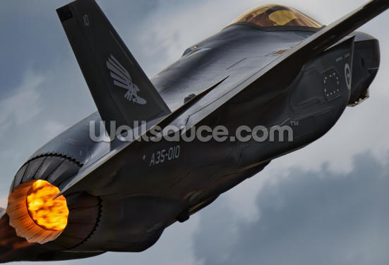 Lockheed Martin F-35 Lightning RAAF Wallpaper Wall Murals