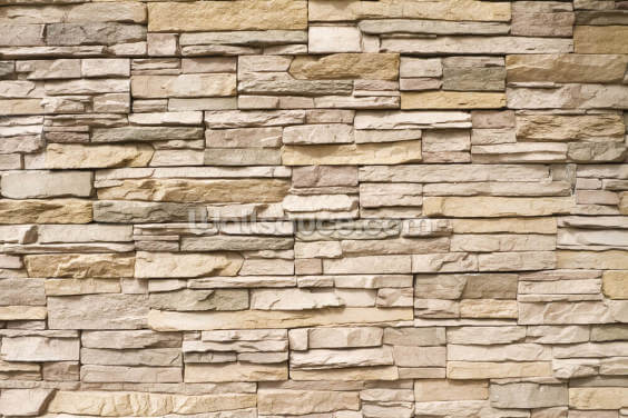 Stacked Stone Wall Wallpaper Wall Murals