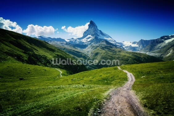Peak of the Matterhorn Wallpaper Wall Murals