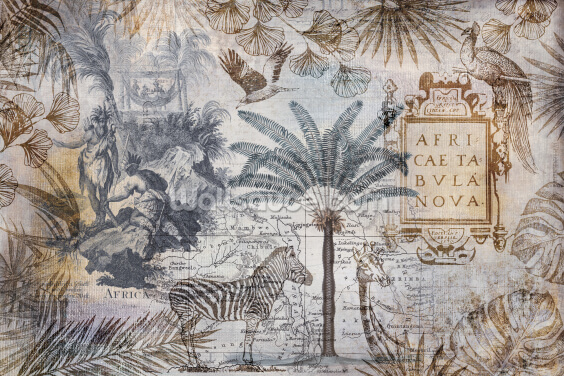 Africa Exploring Wallpaper Wall Murals