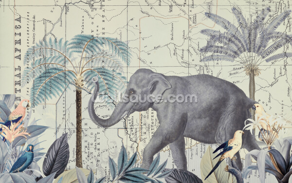 Africa Explore Quer 2 Wallpaper Wall Murals