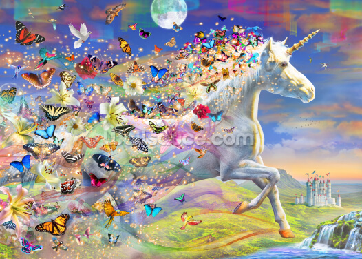 Unicorn Solo Dream Wallpaper Wall Murals