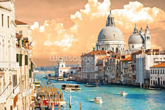 Venice Skies Wallpaper Wall Murals