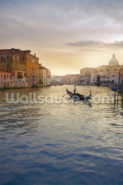 Venice Gondolier Wallpaper Wall Murals