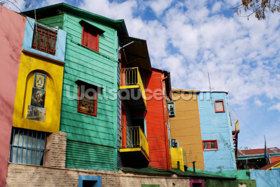 La Boca, Caminito Wallpaper Wall Murals