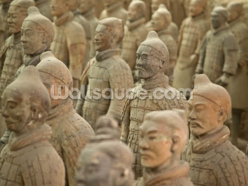 Terracotta Warriors Wallpaper Wall Murals