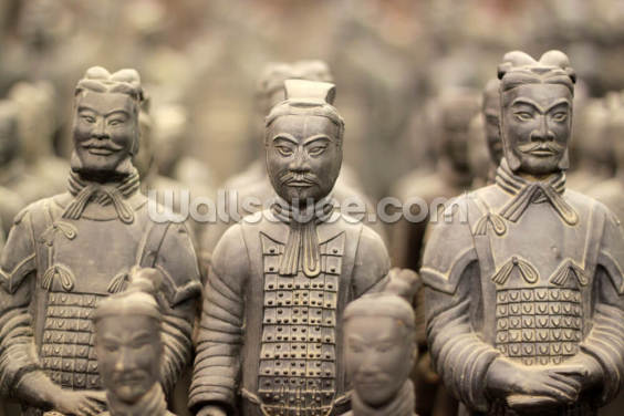 Terracotta Army Wallpaper Wall Murals