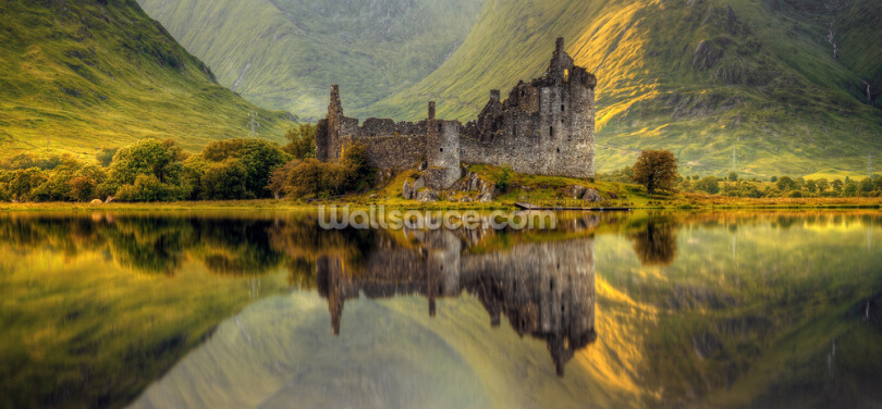 Kilchurn Castle Wallpaper Wall Murals