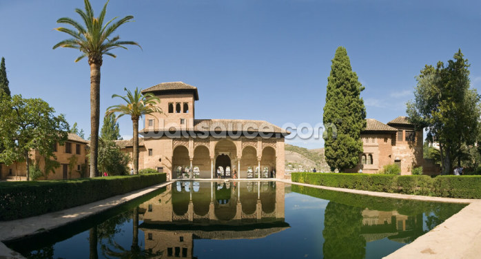 Alhambra Gardens Wallpaper Wall Murals