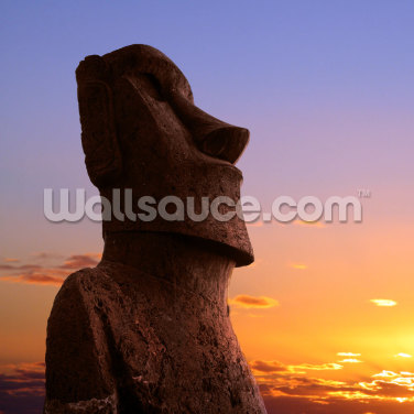 Easter Island Moai Wallpaper Wall Murals