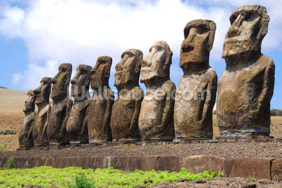 Easter Island Wallpaper Wall Murals
