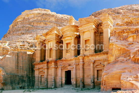 The Monastery, Petra Wallpaper Wall Murals