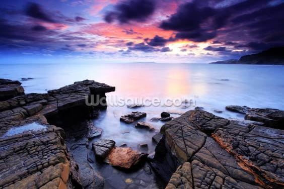 Kimmeridge Bay Wallpaper Wall Murals