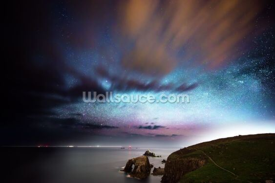 Lands End Starlight Wallpaper Wall Murals
