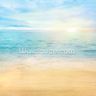 Sea and Sand Tranquility Wallpaper Wall Murals
