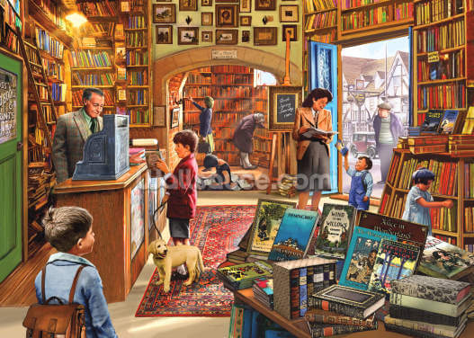 Bookshop Wallpaper Wall Murals