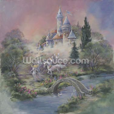 Mystical Castle Wallpaper Wall Murals